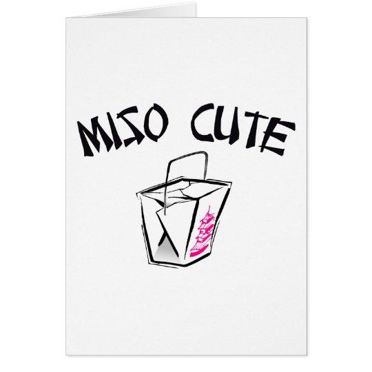 Miso Cute Card
