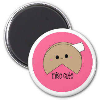 Miso cute Fortune Cookie Fridge Magnets