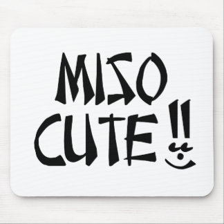 Miso Cute Item Mouse Pad