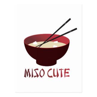 Miso Cute Postcard