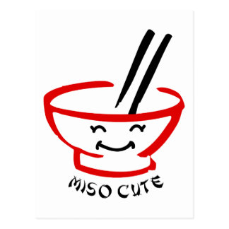 Miso Cute Post Card