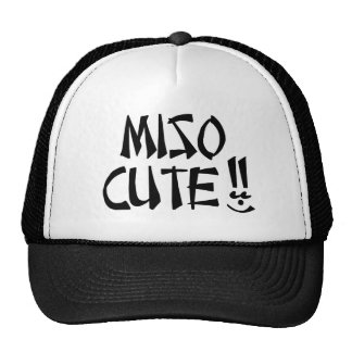 Miso Cute Trucker Hat