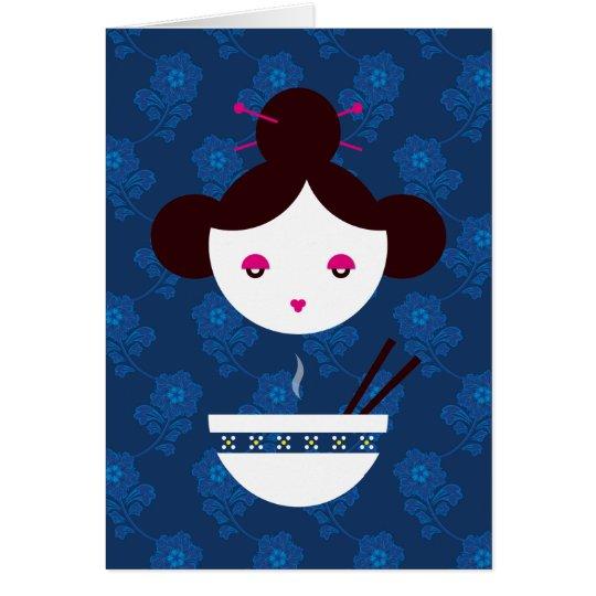 Miso girl card