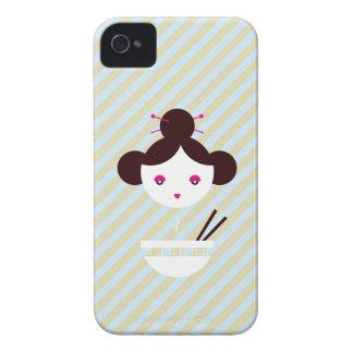 Miso girl iPhone 4 case