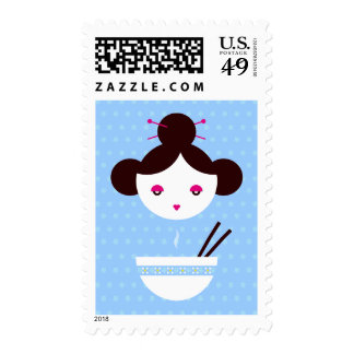 Miso girl postage