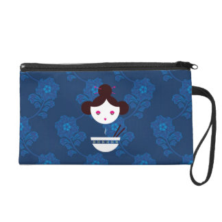 Miso girl wristlet purse