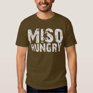 MISO Hungry 味噌汁 Soup Brown Tee