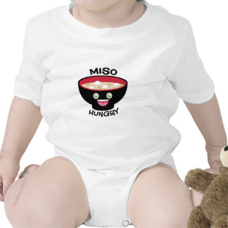 Miso Hungry Baby Bodysuits