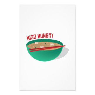 Miso Hungry Stationery