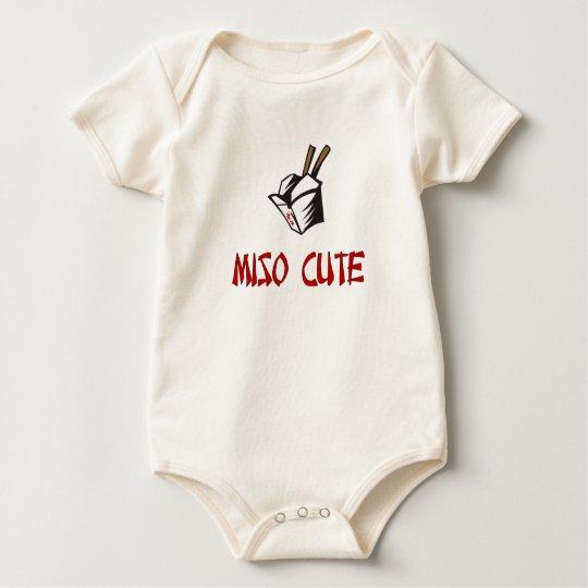 Miso lindo body para bebé