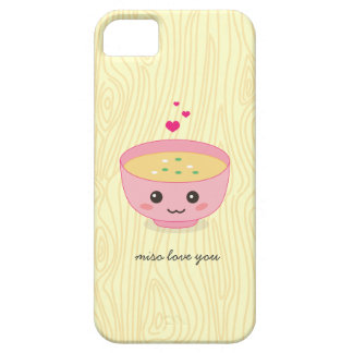 Miso Love You iPhone 5 Cases