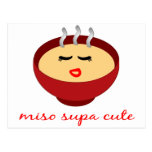 Miso Supa Cute Ladies / Girls Product Design Postcard