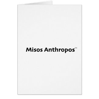 Misos Anthropos Card