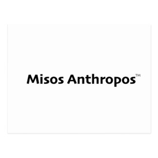 Misos Anthropos Postcard