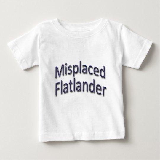 Misplaced Flatlander blu Baby T-Shirt