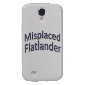 Misplaced Flatlander blu Galaxy S4 Case