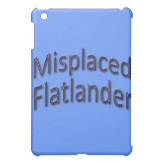 Misplaced Flatlander blu iPad Mini Cases