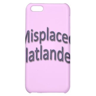 Misplaced Flatlander blu iPhone 5C Cover
