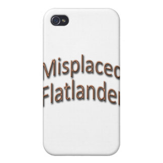 Misplaced Flatlander gld iPhone 4/4S Cases