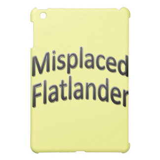 Misplaced Flatlander iPad Mini Cover