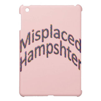 Misplaced Hampshter colful hill Case For The iPad Mini