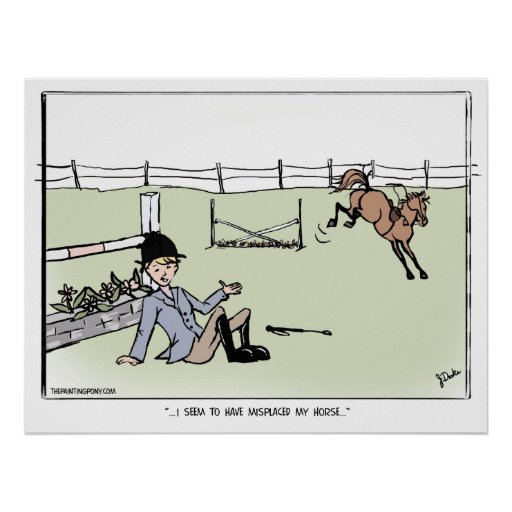 Misplaced My Horse Poster