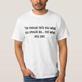 Misprint Mission Statement T-Shirt