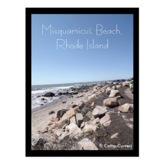 Misquamicut Beach, Rhode Island Post Card