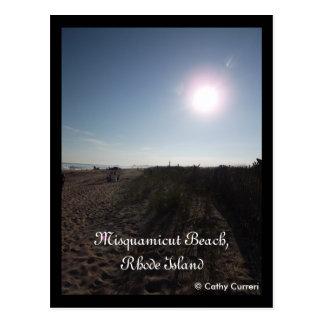 Misquamicut Beach, Rhode Island Postcard