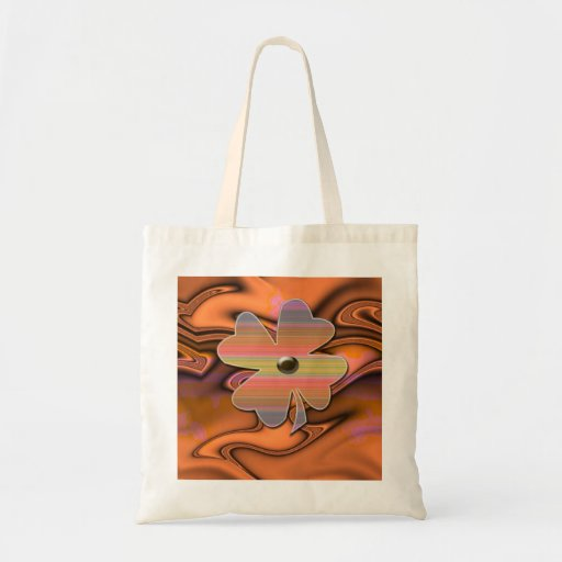 """Miss 60s""""FlowerPower""""* Budget Tote Bag"""