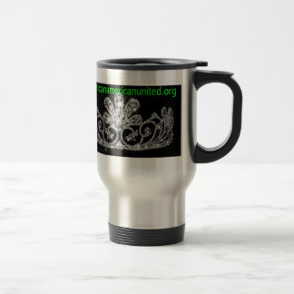 Miss African-American United Crown Travel mug