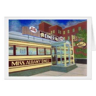 Miss Albany Diner Cards