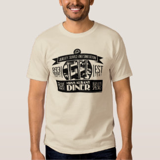 Miss Albany Diner Retro-Vintage T-shirt