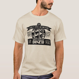 Miss Albany Diner Retro-Vintage T-shirt
