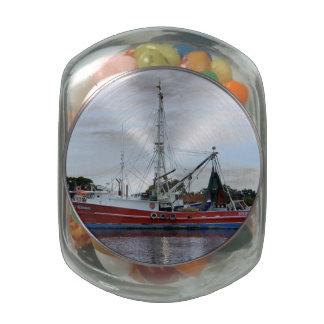Miss Alena Glass Candy Jars