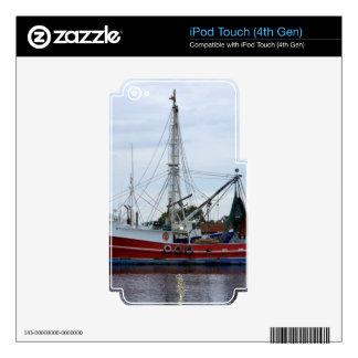 Miss Alena iPod Touch 4G Skin