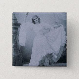 Miss Alice Lethbridge, 1893. Pinback Button