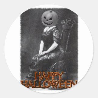 Miss Alicia Pumpkinhead Stickers