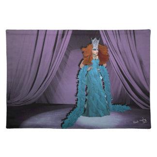 Miss Amanda Handlme Placemat Cloth Placemat