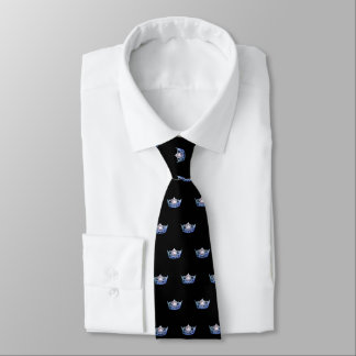 Miss America Blue Crown Men's Tie
