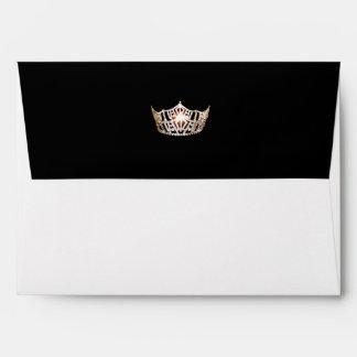 Miss America Gold Crown Envelope