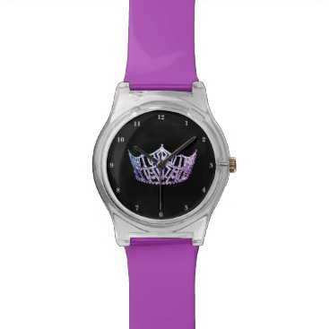 USA Themed Miss America Lilac Crown May 28th Watch