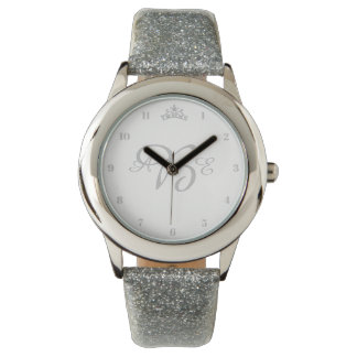Miss America & Pageant Rodeo Silver Crown Watch