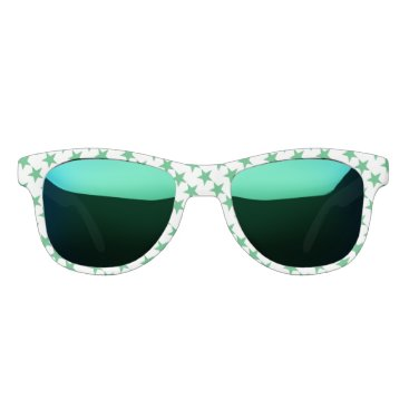 Beach Themed Miss America Sea Glass Star Sunglasses