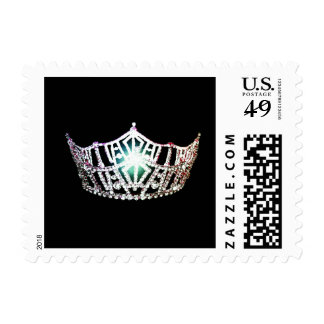 Miss America Silver Crown Postage Stamps