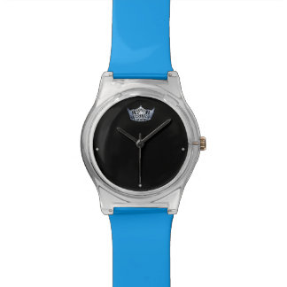 Miss America style Blue Crown Watch