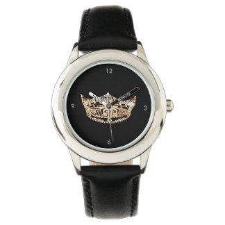 Miss America style Crown Black Watch