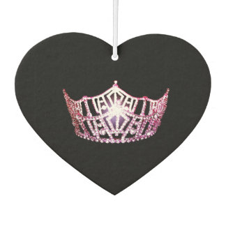 Miss America style Crown Car Air Freshener