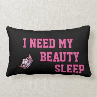 Miss America style crown Need My Sleep Pillow