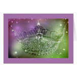 Miss America Style Crown Note Card